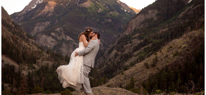 Ouray Colorado wedding photographer Beaumont Hotel Ouray Colorado