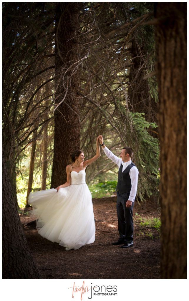 Vail Colorado wedding photographer at the Donovan Pavilion