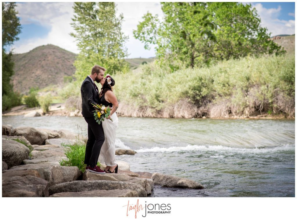 Salida Colorado wedding photographer at the SteamPlant
