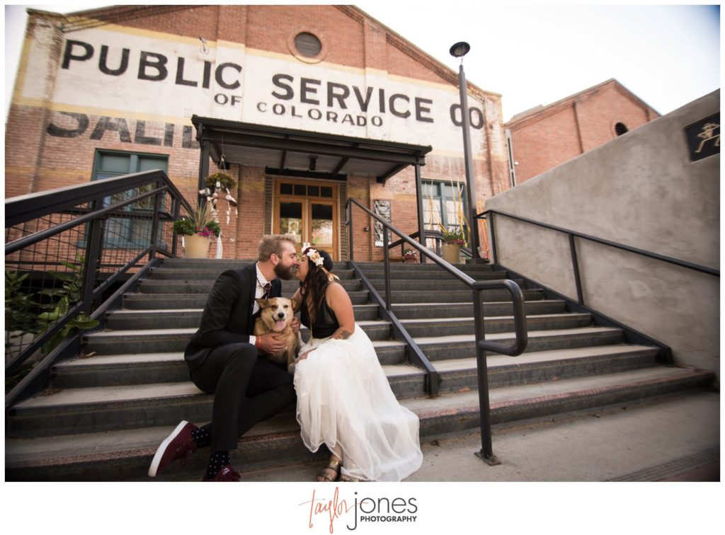 Salida Colorado wedding photographer at the SteamPlant wedding