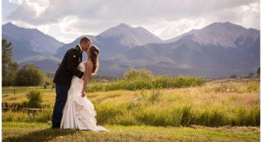 DIY ranch wedding in Salida Colorado