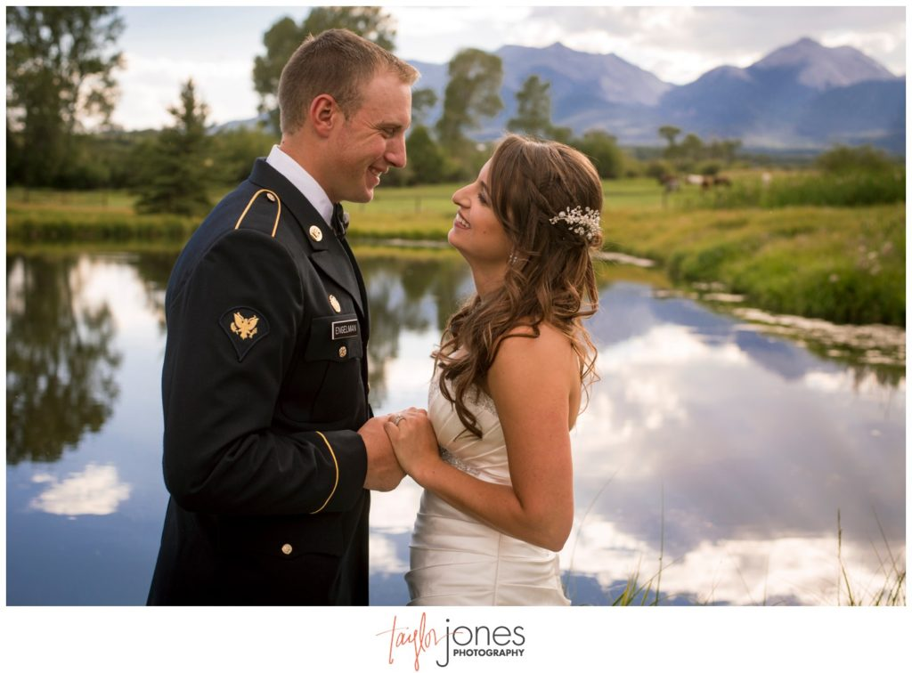 Ranch wedding in Salida Colorado