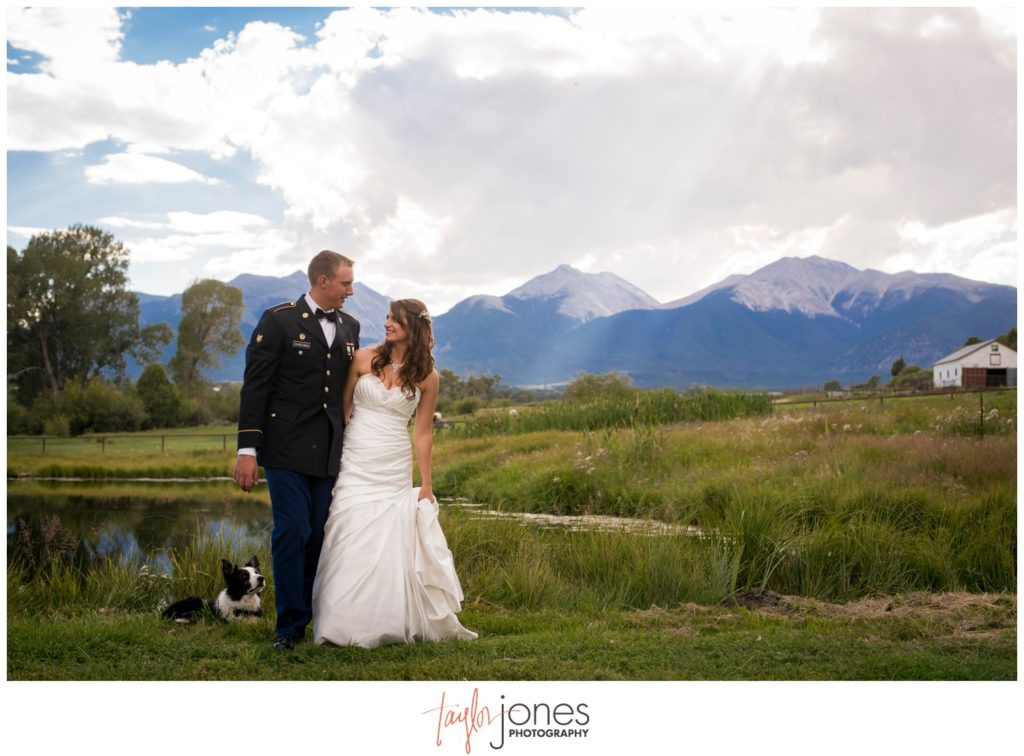 Salida Colorado ranch wedding