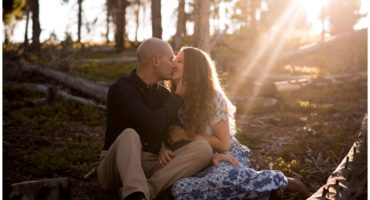 Engagement shoot at Sapphire Point in Dillon Colorado