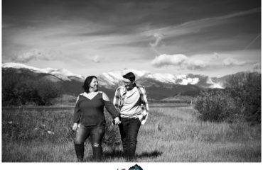 Kenosha Pass engagement shoot in the fall