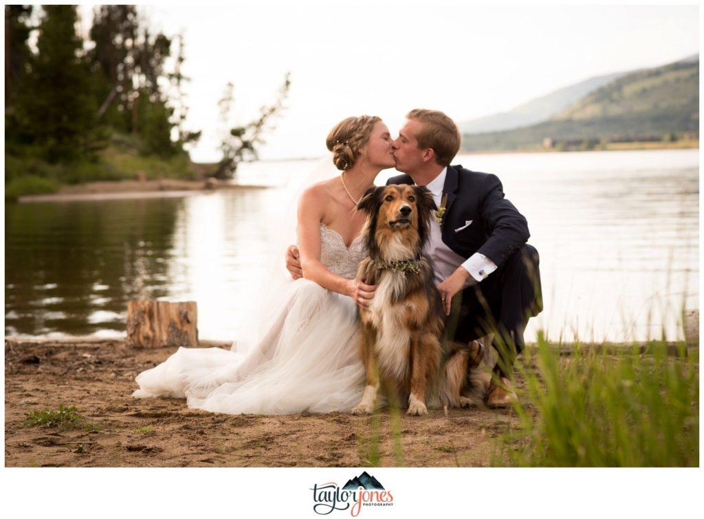 Breckenridge Colorado wedding photographer Brandee and Austen at Lake Dillon