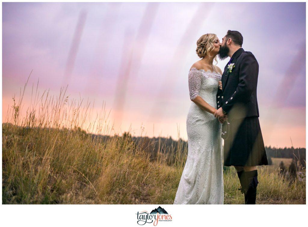 Evergreen Colorado wedding photographer Ryan and Chloe