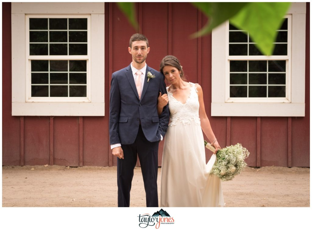 Chatfield Botanic Gardens summer wedding photographer