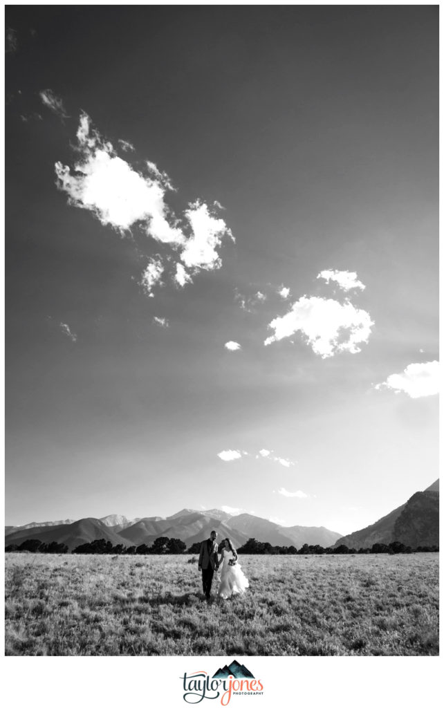 Mount Princeton Colorado wedding photographer in Salida Colorado