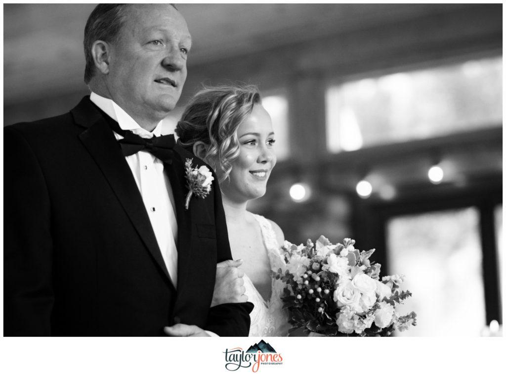 Mount Princeton Winter Wedding ceremony