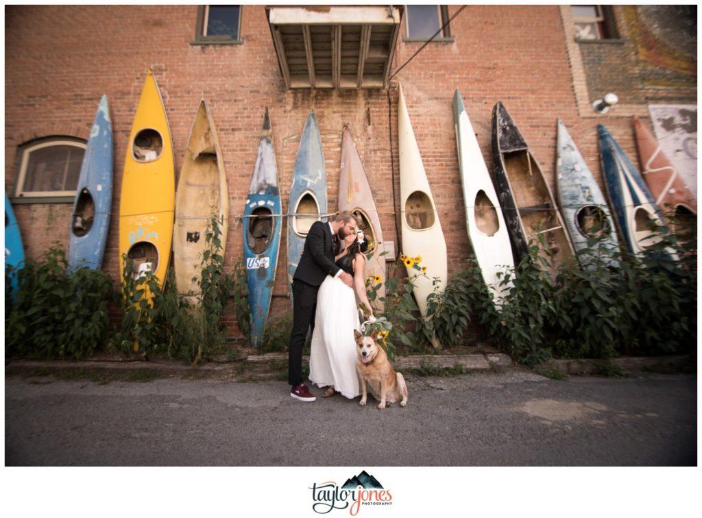 Salida Colorado wedding photographer at the Steam Plant Revfem