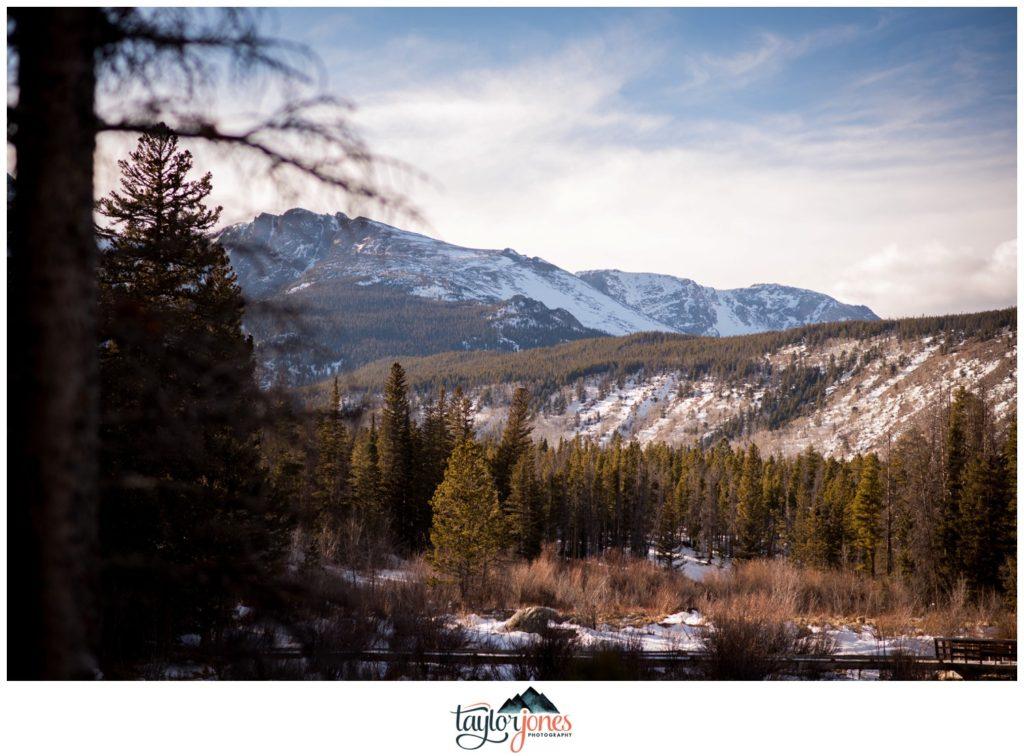 Rocky Mountain National Park Proposal at Sprague Lake
