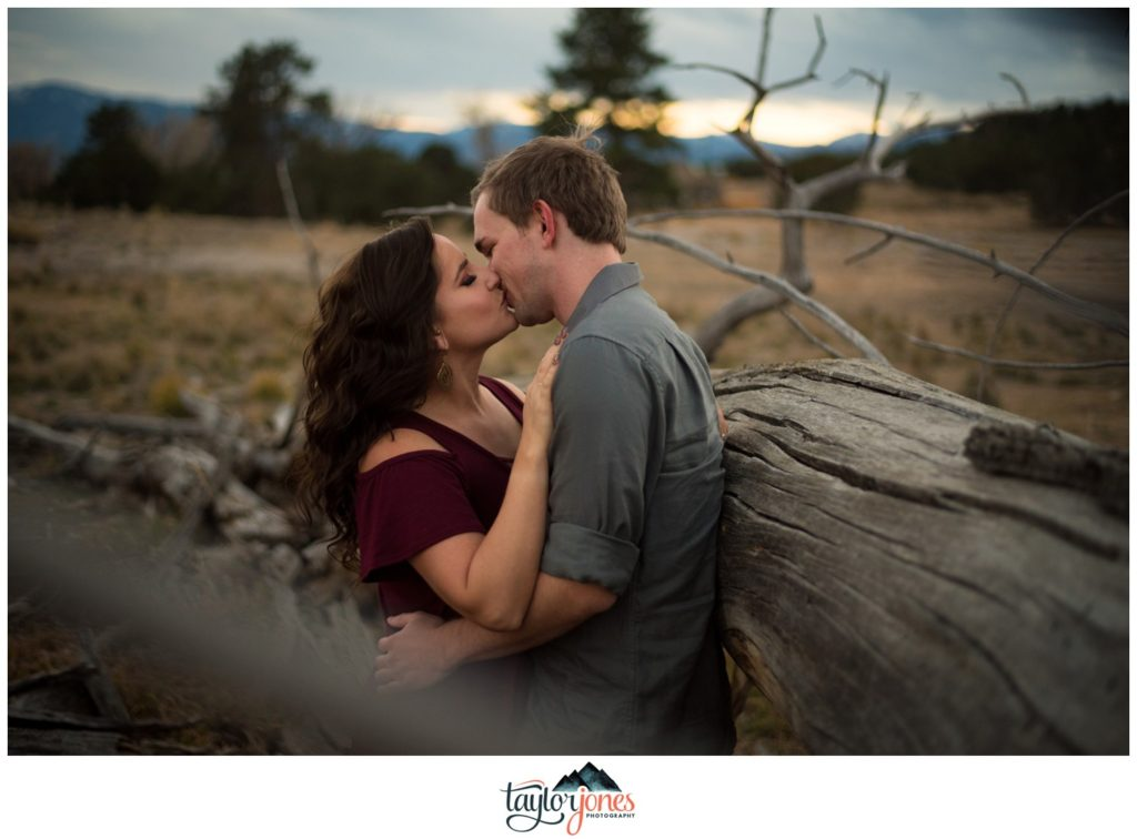 Salida Colorado ranch engagement shoot photographer