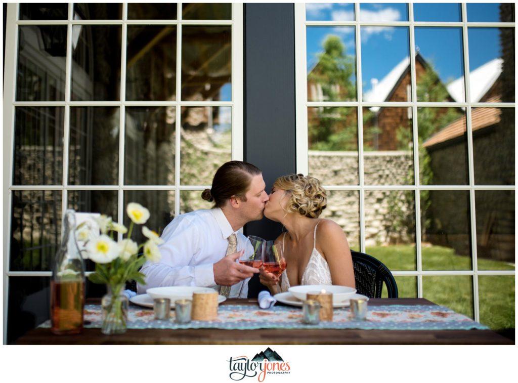 Surf Hotel Buena Vista Colorado wedding ceremony and reception