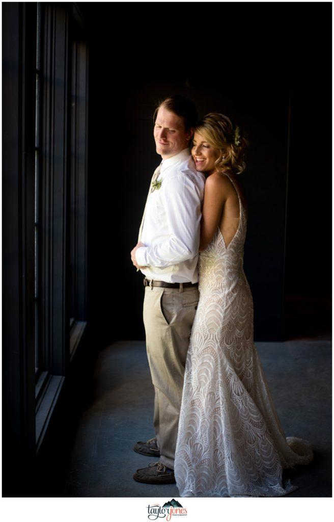Surf Hotel Buena Vista Colorado wedding bride and groom