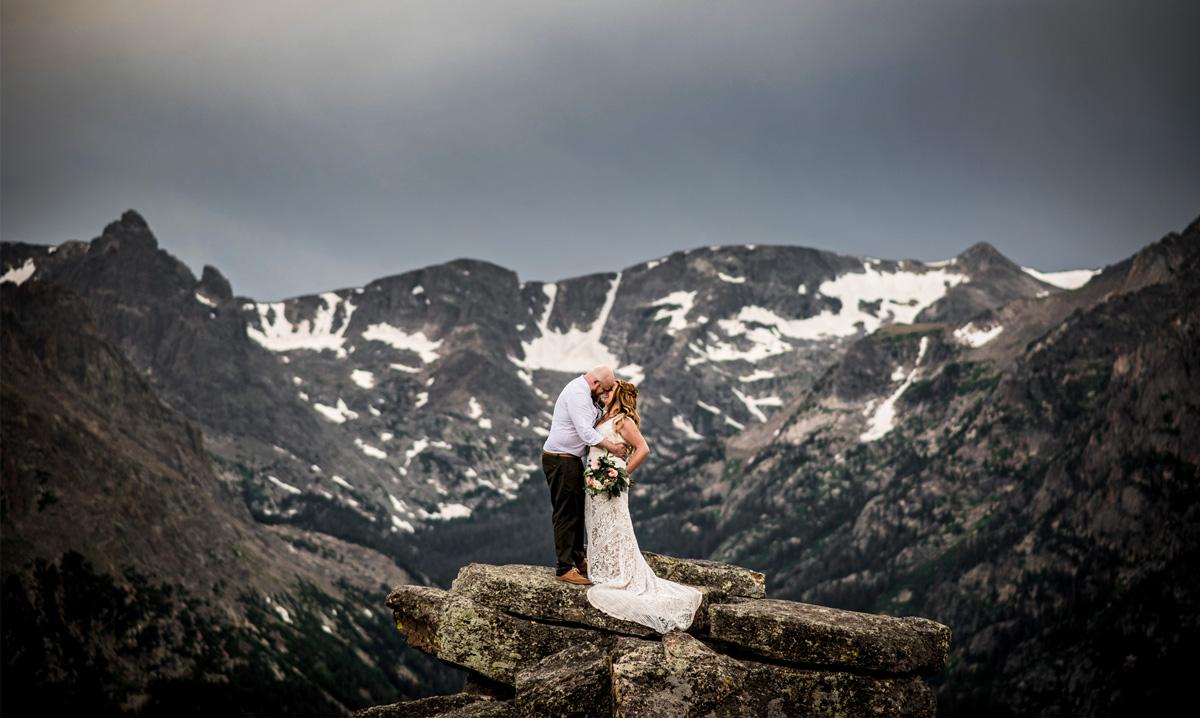 Rocky Mountain national Park wedding photographers