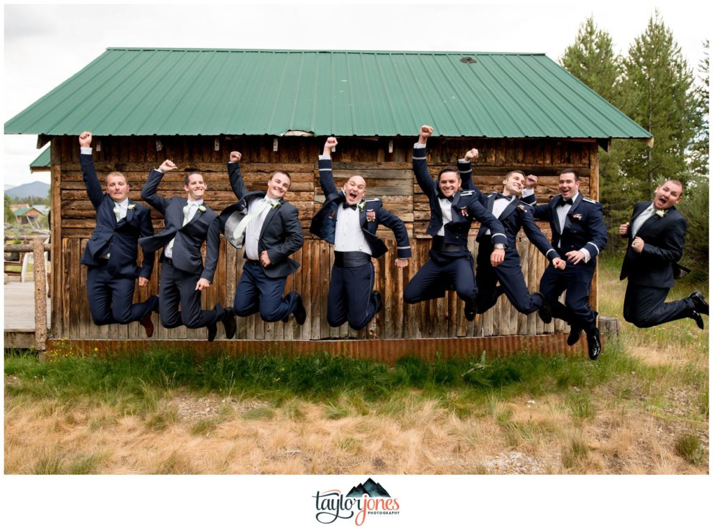 Winding River Ranch Wedding of Mike and Melissa bridal party portraits