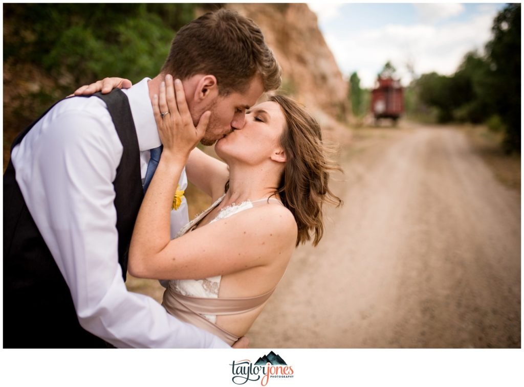 Eden West Ranch Wedding bride and groom portraits