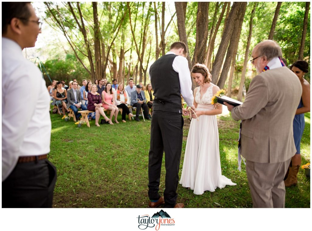 Eden West Ranch Wedding ceremony