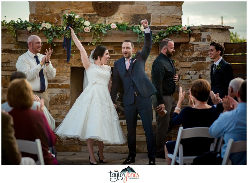 Farmhouse at Breckenridge Brewery Wedding ceremony