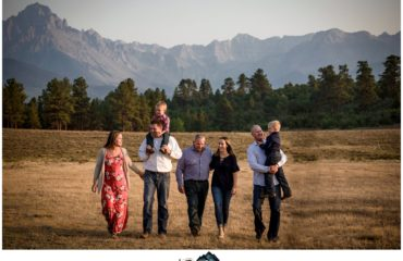 Ouray Colorado Family Photographer at Top of the Pines