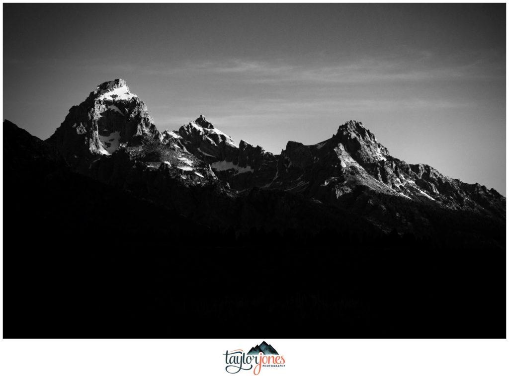 Yellowstone National Parkphotographer at sunrise