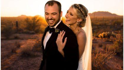 Arizona desert wedding photographer