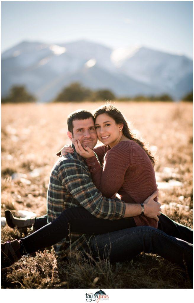 Salida Colorado photographer at Mount Princeton