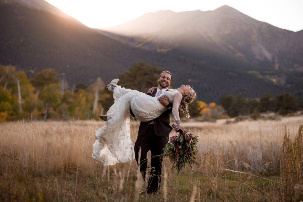 Eclectic ranch wedding in Buena Vista, Colorado