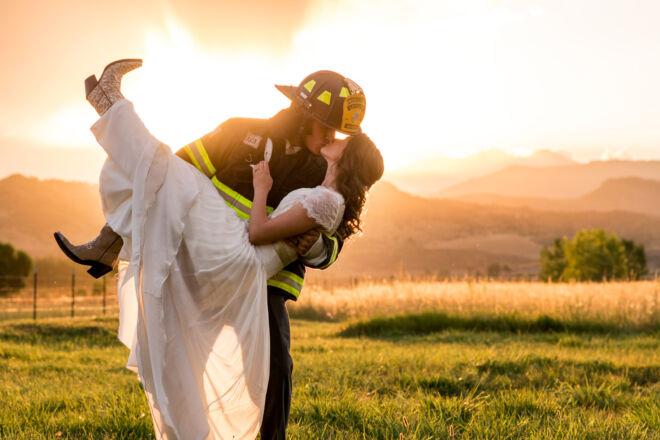 FirefighterWedding